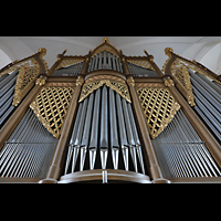 Hof, St. Michaelis, Orgel perspektivisch