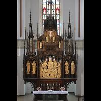 Hof, St. Michaelis, Neogotischer Hochaltar