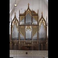 Hof, St. Michaelis, Orgel von der linken Seitenempore aus gesehen