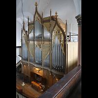 Hof, St. Michaelis, Orgel von der oberen linken Seitenempore aus gesehen