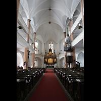 Hof, St. Michaelis, Innenraum in Richtung Chor