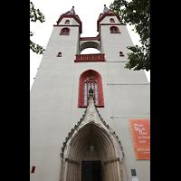 Hof, St. Michaelis, Doppelturmfassade
