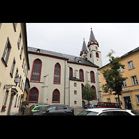 Hof, St. Michaelis, Seitenansicht vom Maxplatz