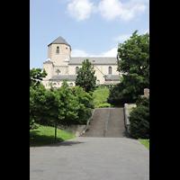 Mönchengladbach, Münster St. Vitus (Hauptorgel), Außenansicht von Süden von der Weiherstraße