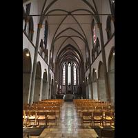 Mönchengladbach, Münster St. Vitus (Hauptorgel), Innenraum  in Richtung Chor