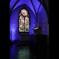 Mönchengladbach, Münster St. Vitus (Hauptorgel), Martinskapelle mit Abendmahlsschrein von 1895