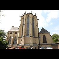 Mönchengladbach, Münster St. Vitus (Hauptorgel), Chor von außen