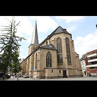Mönchengladbach, Citykirche (Positiv), Außenansicht von Südosten