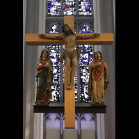 Mönchengladbach, Citykirche (Positiv), Kruzifix