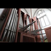 Mönchengladbach, Citykirche (Positiv), Orgel seitlich