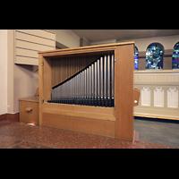 Berlin (Reinickendorf), Dorfkirche Alt Tegel (ev.) - Positiv, Positiv geöffnet
