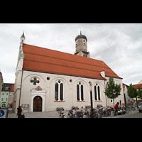 Weilheim, Mariae Himmelfahrt, Außenansicht, Seitenschiff