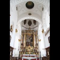 Weilheim, Mariae Himmelfahrt, Altarraum