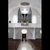 Weilheim, Mariae Himmelfahrt, Orgelempore
