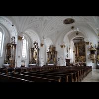 Weilheim, Mariae Himmelfahrt, Innenraum