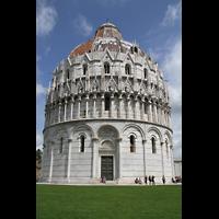 Pisa, Duomo di Santa Maria Assunta (Hauptorgel), Baptisterium
