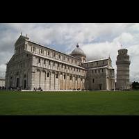 Pisa, Duomo di Santa Maria Assunta (Hauptorgel), Dom und Schiefer Turm