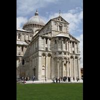 Pisa, Duomo di Santa Maria Assunta (Hauptorgel), Chor und Kuppel von außen