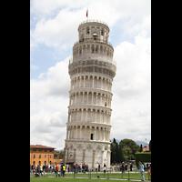 Pisa, Duomo di Santa Maria Assunta (Hauptorgel), Schiefer Turm von Pisa