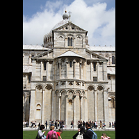 Pisa, Duomo di Santa Maria Assunta (Hauptorgel), Chor von außen