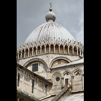 Pisa, Duomo di Santa Maria Assunta (Hauptorgel), Kuppel und Vierung