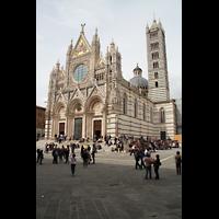 Siena, Cattedrale, Außenansicht