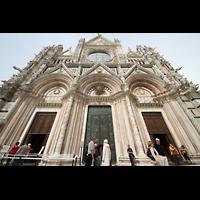 Siena, Cattedrale, Portale