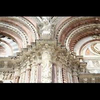 Siena, Cattedrale, Ornamentik an der Fassade