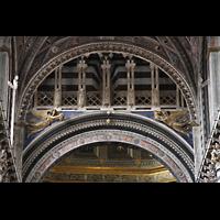 Siena, Cattedrale, Bogen unterhalb der Kuppel