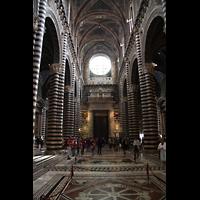 Siena, Cattedrale, Hauptschiff / Innenraum