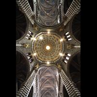 Siena, Cattedrale, Hauptschiffgewölbe und Kuppel