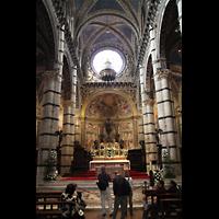 Siena, Cattedrale, Chorraum mit Hauptaltar