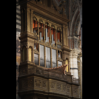 Siena, Cattedrale, Evangelienorgel