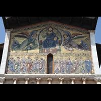 Lucca, Basilica di San Frediano, Mosaik an der Fassade