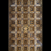 Pisa, Duomo di Santa Maria Assunta (Hauptorgel), Kassetten-Decke