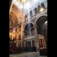 Pisa, Duomo di Santa Maria Assunta (Hauptorgel), Blick zur Epistelorgel und in den Chor