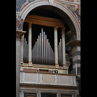 Pisa, Duomo di Santa Maria Assunta (Hauptorgel), Orgel auf der Evangelienseite