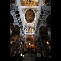 Pisa, Duomo di Santa Maria Assunta (Hauptorgel), Vierungskuppel und Chorraum