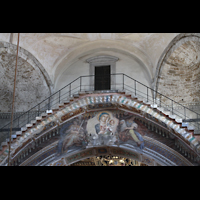 Pisa, Duomo di Santa Maria Assunta (Hauptorgel), Brücke mit Ausgang unterhalb der Kuppel