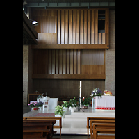 Bologna, S. Giovanni Bosco, Orgel-'Prospekt'