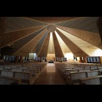 Torino (Turin), Chiesa del S. Volto (Concattedrale), Innenraum / Hauptschiff in Richtung Altar