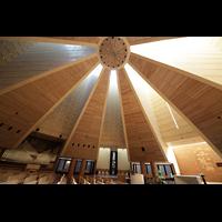 Torino (Turin), Chiesa del S. Volto (Concattedrale), Zeltförmige Dachkonstruktion aus Holz