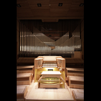 Torino (Turin), Chiesa del S. Volto (Concattedrale), Orgel mit Spieltisch
