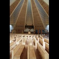 Torino (Turin), Chiesa del S. Volto (Concattedrale), Blick zur Orgel