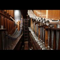 Torino (Turin), Chiesa del S. Volto (Concattedrale), Pfeifen der Tromba reale im Solowerk