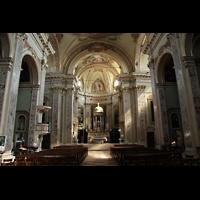 Bergamo, San Alessandro della Croce, Innenraum / Hauptschiff in Richtung Chor