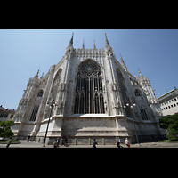 Milano (Mailand), Duomo di Santa Maria Nascente, Chor von außen