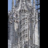 Milano (Mailand), Duomo di Santa Maria Nascente, Treppenaufgang zum Turm