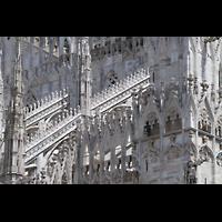 Milano (Mailand), Duomo di Santa Maria Nascente, Reich verzierte Strebebögen