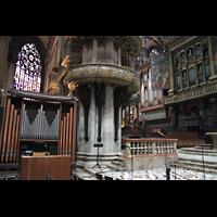 Milano (Mailand), Duomo di Santa Maria Nascente, Chororgel und Organo Sud